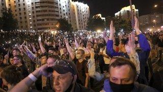 A Minsk, l'opposition ne baisse pas les bras