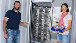 Lavey-les-Bains: un couple d'agriculteurs installe un distributeur automatique… de viande de bœuf