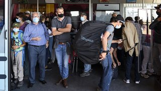 Coronavirus: le port du masque est respecté dans les transports publics