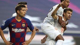 Football – Ligue des champions: le Bayern humilie le Barça et s'offre les demi-finales