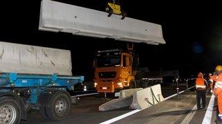 Valais: plusieurs fermetures annoncées sur l'autoroute