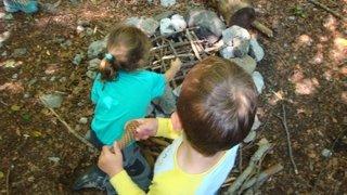 Vionnaz: à l'école de la nature, en forêt