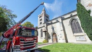 Et si la cathédrale de Sion était la proie des flammes?