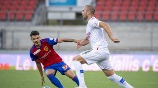 FC Sion: les notes des joueurs valaisans face à Bâle