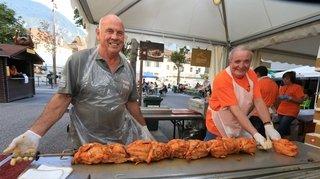 Sierre: les bénévoles sont prêts pour la Fête du poulet