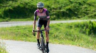 Cyclisme: pour Maxime Galletti, l'ascension vers Mauvoisin est suffisamment longue mais l'effort un peu court