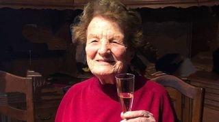 Hortense Gex-Fabry, née Perrin, a fêté ses cent printemps à Val-d'Illiez