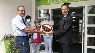 Coronavirus: l'Interprofession Raclette du Valais AOP offre du fromage valaisan au personnel médical