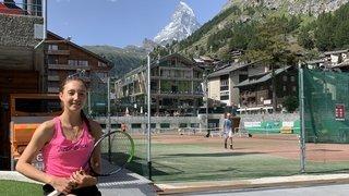 Leonie Küng à Zermatt pour poursuivre sa route vers les sommets