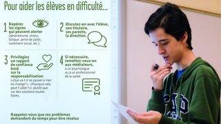 Aider les élèves en difficulté psychique à achever leur cursus: un défi pour les directeurs du secondaire II