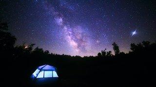 Le camping sauvage, c'est si beau mais pas si simple