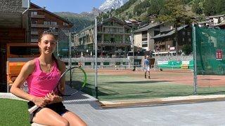 Tennis: Leonie Küng battue à Zermatt par une joueuse encore plus jeune