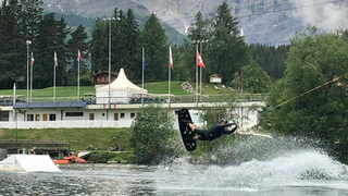 Crans-Montana: invitation au ski nautique