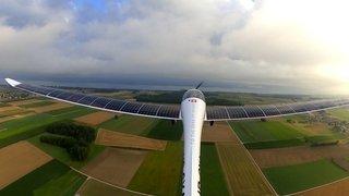 SolarStratos a repris ses vols d'essais à Payerne (VD)