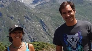 Tennis: Roger Federer, un randonneur très inattendu