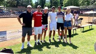 Tennis: les jeunes Valaisans esquissent un nouvel avenir