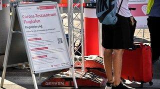 Coronavirus: un millier d'Allemands testés positifs informés avec une semaine de retard