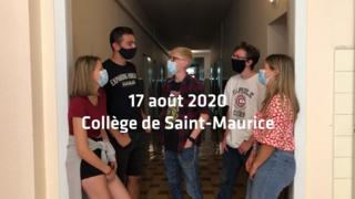 Le masque à l'école