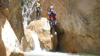 Bourg-Saint-Pierre se met au canyoning dans le torrent de Valsorey