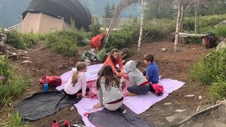 Châtelard: des ateliers bien-être pour les enfants à 1800 mètres d'altitude