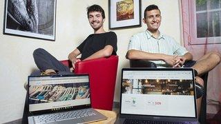 L'équipe de Local19, ValaiStar d'août: «Nous sommes ultramotivés à continuer la promotion de l'économie locale»