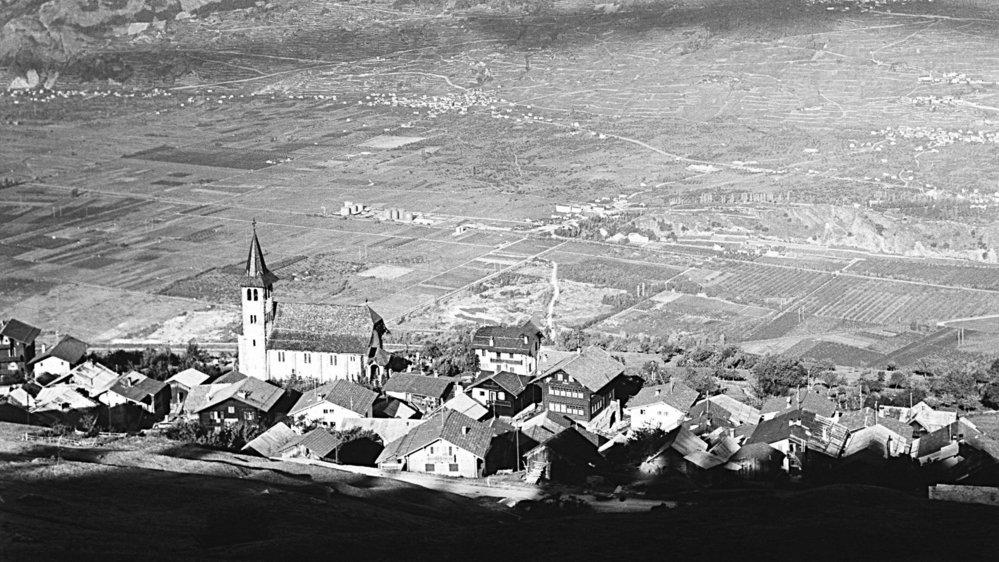 A Veysonnaz (ici vers 1960) un Délèze n'épousait pas une Fournier, et vice-versa, jusque dans les années 60.