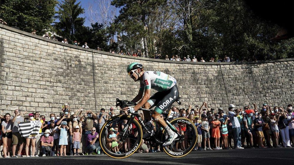 Deuxième de la 13e étape, Lennard Kämna (24 ans) s'est imposé avec 1'27'' d'avance sur Richard Carapaz et 1'56'' sur le champion de Suisse Sébastien Reichenbach. (archives)