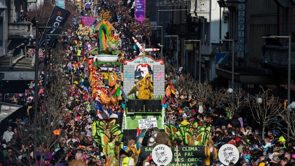Le carnaval de Bellinzone a probablement été un accélérateur de la diffusion du virus.