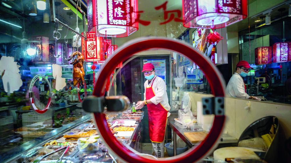 En Chine, les prix de l'alimentation sont en hausse de treize pour cent en juillet.