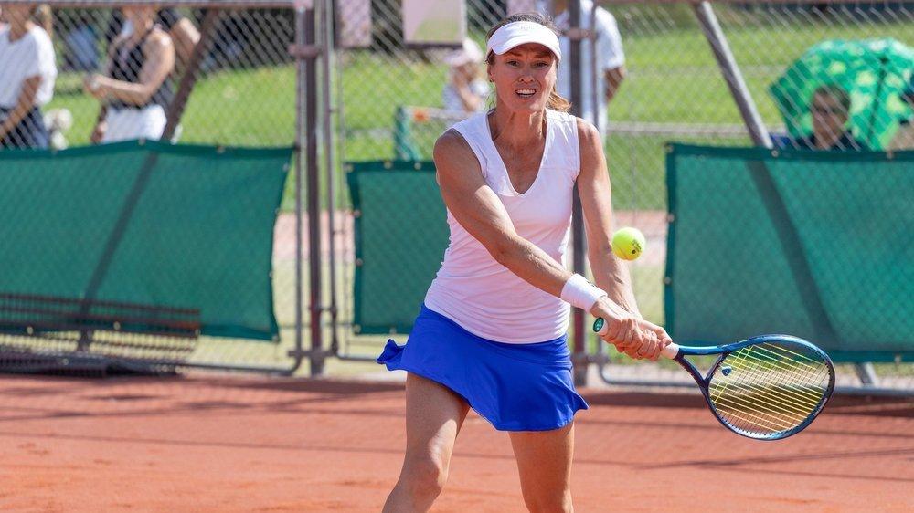 Martina Hingis affrontera Ylena In-Albon sur le court des Ìles de Sion, samedi dans le cadre du championnat interclubs.