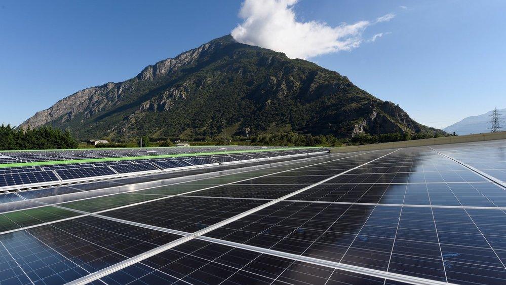 Le Valais souhaite compter pour 20% de la production d'énergie solaire en Suisse d'ici 2035.