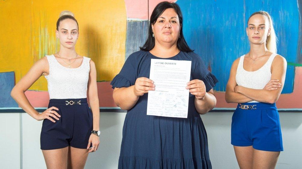 Amanda Montipietra, Stéphanie Mahdi et Hélène Montipietra réfutent les maltraitances.