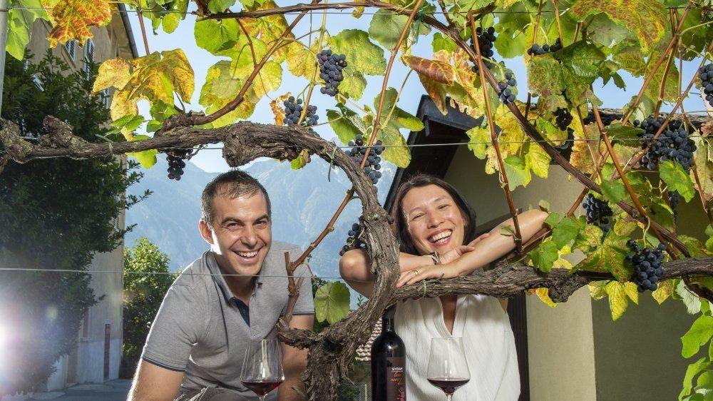 Isabella et Stéphane Kellenberger, deux personnalités, deux talents, réunis par l'amour.