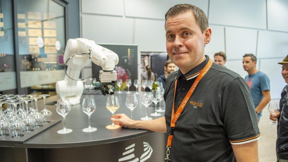 David Héritier veut nourrir le débat sur la robotisation.