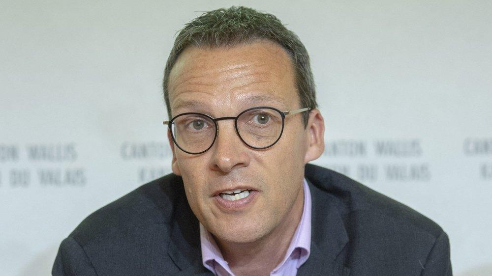 Communales 2020: le président de Monthey Stéphane Coppey à la barre