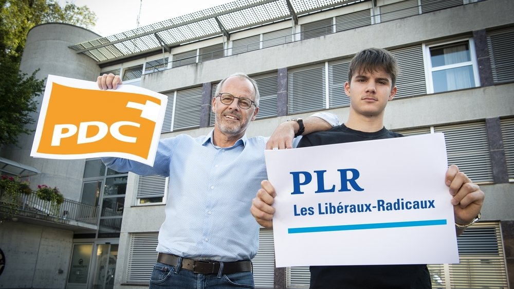 Gilles Cottet et son fils Guillaume reconnaissent que leurs partis sont des rivaux historiques, mais, entre eux, aucune vraie rivalité n'existe.