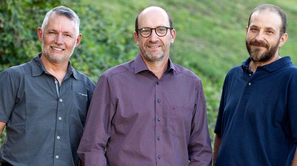 Tarcis Ancay (PS), Carlo Clivaz (Centre-gauche PCS) et Ramon Montoya (Les Verts).
