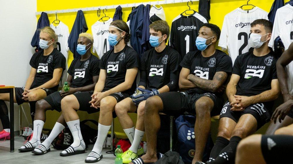 Le FC Martigny-Sports a déjà eu droit à deux mises en quarantaine.