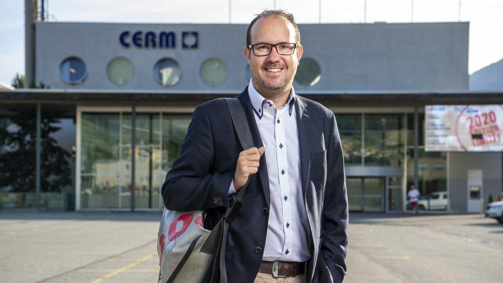 David Genolet va tourner définitivement la page FVS Group, CERM et Foire du Valais à la fin de ce mois de septembre.