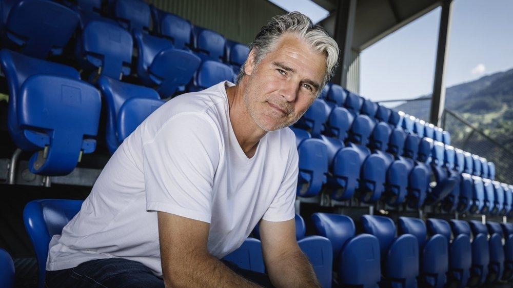 Marco Walker se sent à l'aise en Valais et au stade du Stapfen où il entraîne le FC Naters.
