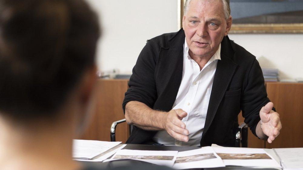 Jacques Melly, conseiller d'Etat chargé du Service de la chasse, de la pêche et de la faune, répond aux multiples accusations portant sur son Service.