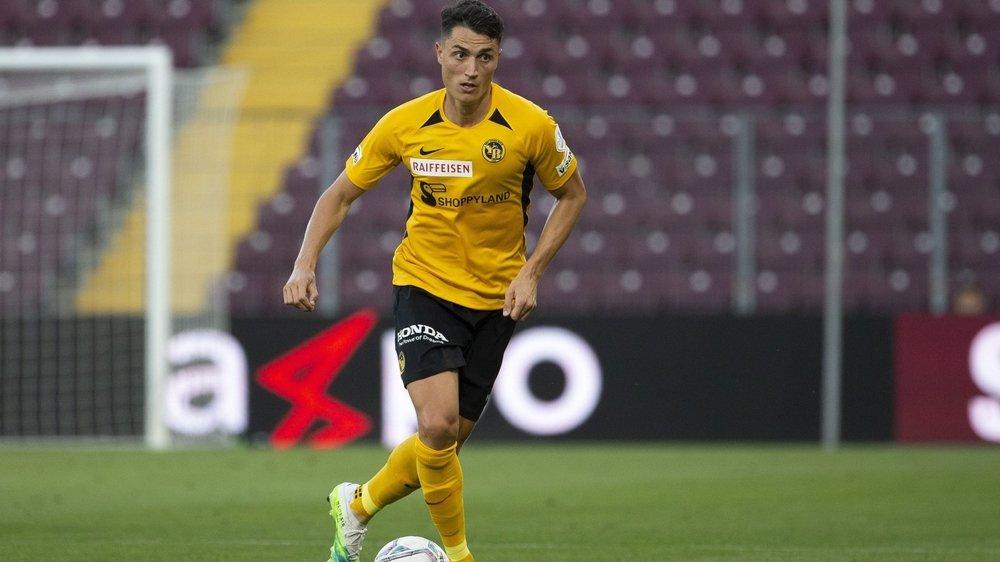 Vincent Sierro aborde avec beaucoup d'ambition sa deuxième saison sous le maillot des Young Boys.