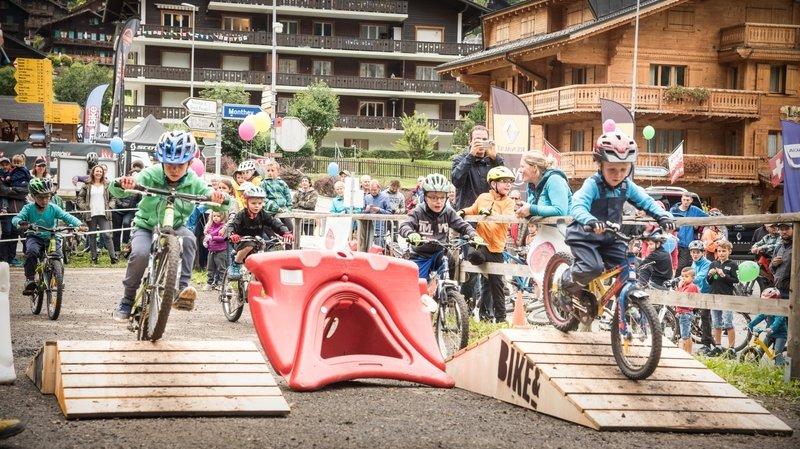 Cette année, la manifestation - ici la Kids Race - ne se déroulera pas au cœur de la station mais sur le site du Grand-Paradis.