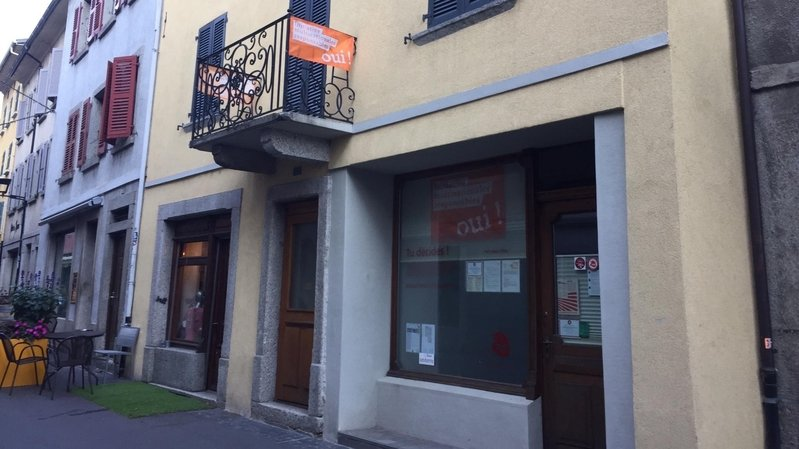 Martigny: le POP Valais inaugure son quartier général