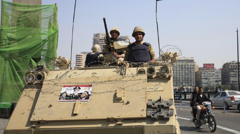 Les forces armées égyptiennes ont annoncé la mort de plus de 70 militants islamistes présumés dans le cadre d'une opération dans le Sinaï. (illustration, 2013)
