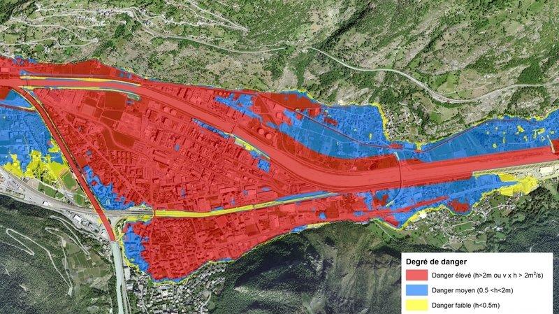Crue du Rhône: 20milliards de dégâts potentiels