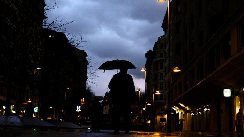 Météo: de fortes pluies menacent le Tessin
