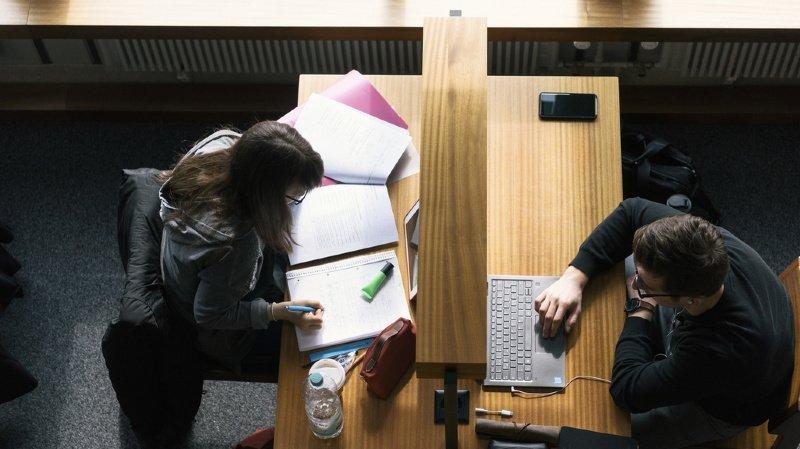 Près de 18% des étudiants suisses suivent les cours d'une université à l'étranger. (illustration)