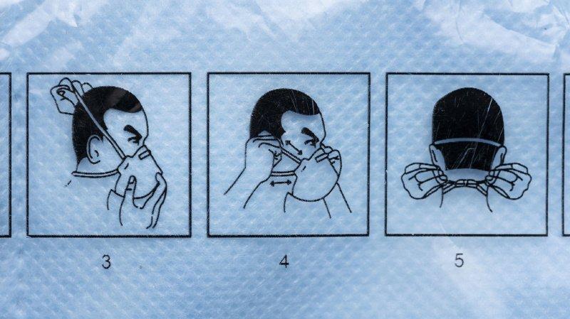Coronavirus: rappel de deux masques respiratoires pas suffisamment protecteurs