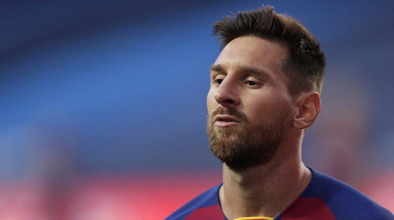 Véritable légende du FC Barcelone, Lionel Messi semble bien décidé à vouloir quitter le club catalan (Keystone Archives).